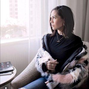 Cynthia Rowley Faux Fur Jacket